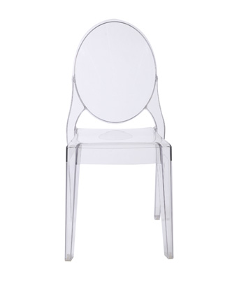 Victoria Ghost Chair – Clear