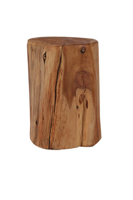 Wood Stump Stool
