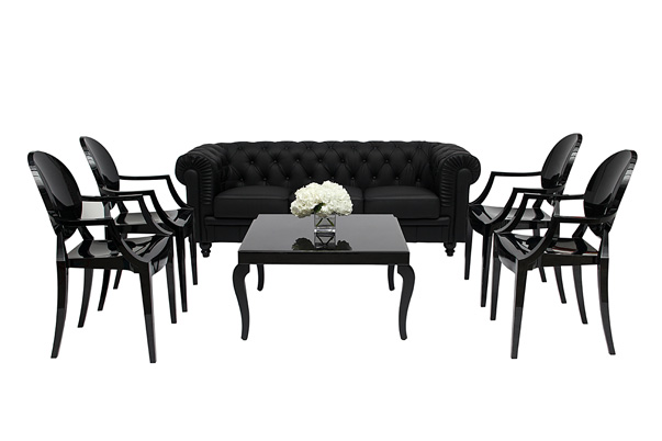 Aristocrat Lounge Grouping – Black