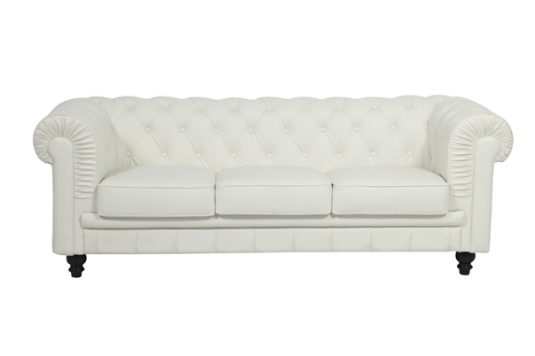 Aristocrat Sofa – White