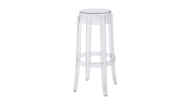 Charles Ghost Barstool – Clear