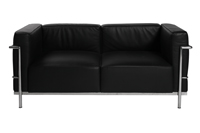 Le Corbusier Sofa - Black