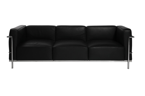 Le Corbusier Sofa – Black