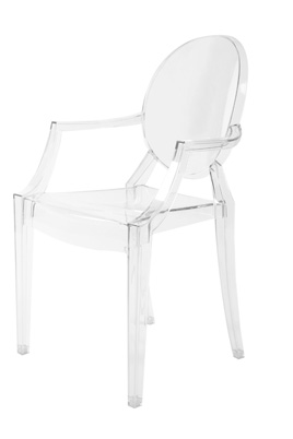 Louis Ghost Chair – Clear