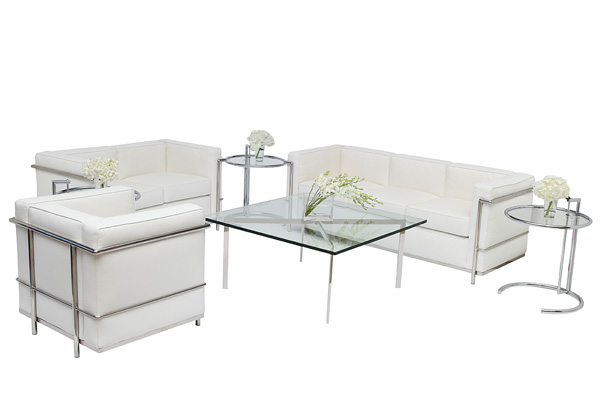 Le Corbusier Lounge Grouping – White