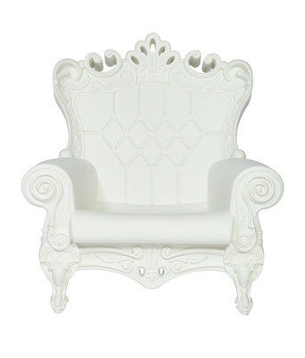 Queen of Love Chair – White