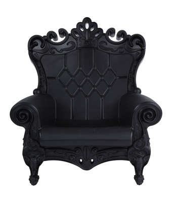 Queen of Love Chair – Black
