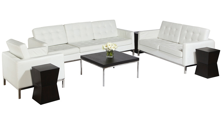 Knoll Lounge Grouping – White