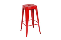 Marais Metal Barstool_Red