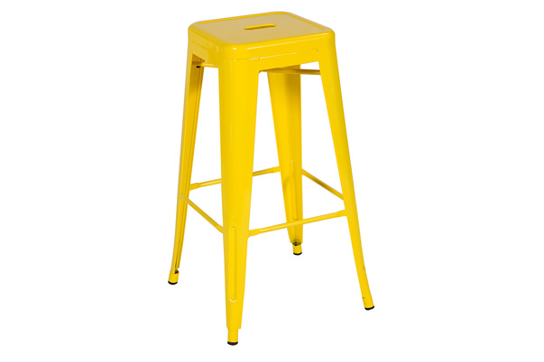 Marais Metal Barstool – Yellow