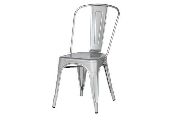 Marais Metal Chair – Silver
