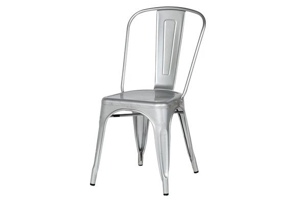 Marais Metal Chair – Silver