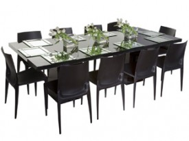 Mariner Dining Grouping - Black