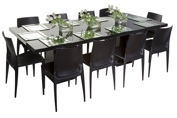 Mariner Dining Grouping – Black