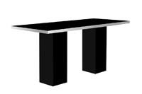 Mariner High Dining Table Black