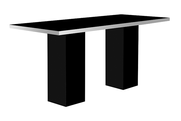Mariner High Dining Table – Black