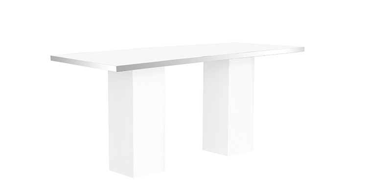 Mariner High Dining Table – White