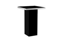 Mariner Highboy Table Black
