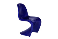 Panton Chair_Blue
