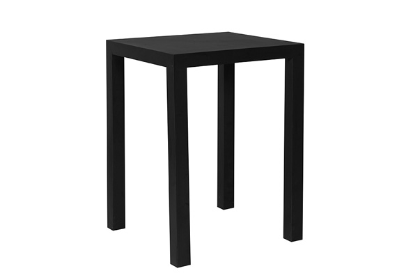 Parson Highboy Table – Black