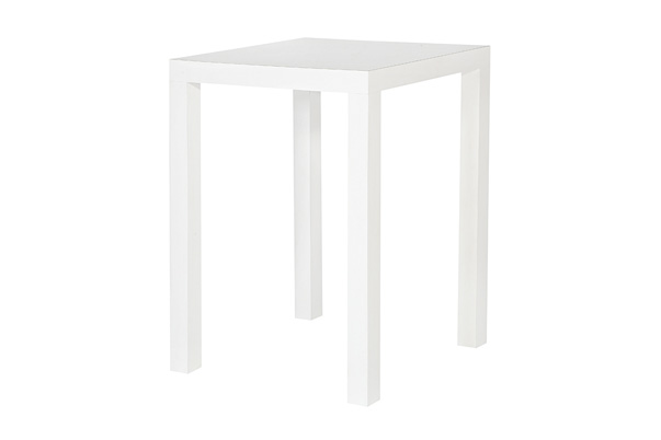 Parson Highboy Table – White