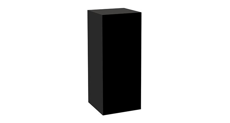 Plexi Pedestal – 44″ Black
