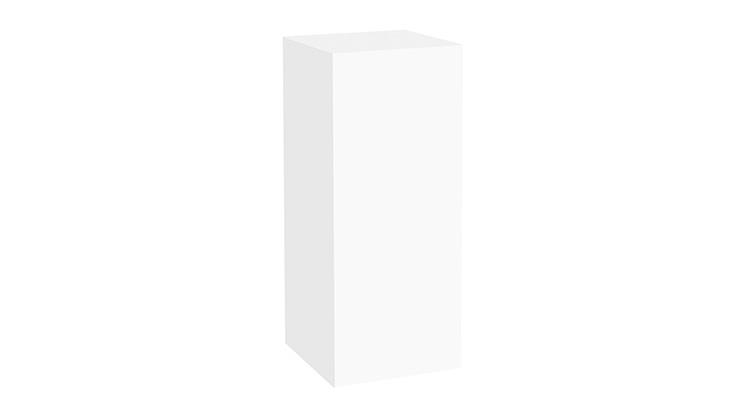 Plexi Pedestal – 44″ White