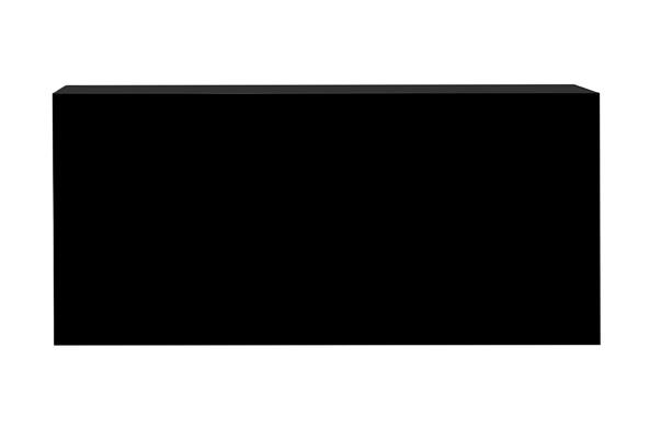 Standard Bar – 8′ Black