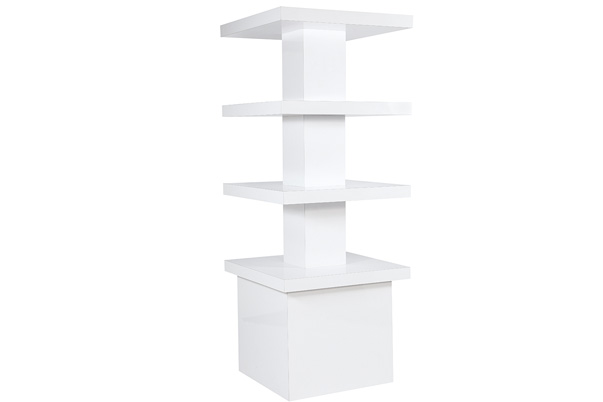 Display Tower – White