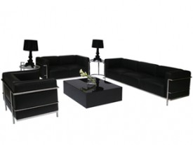 Le Corbusier Lounge Grouping - Black