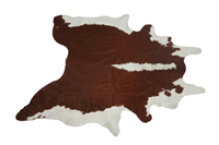 Cow Hide Rug - Brown