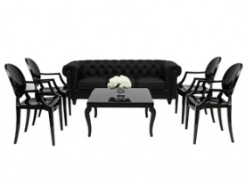 Aristocrat Lounge Grouping - Black