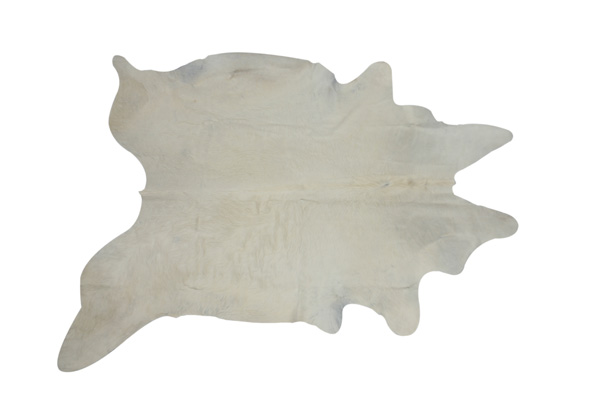 Cow Hide Rug – White