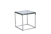 Frame End Table - Chrome