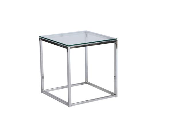 Frame End Table – Chrome