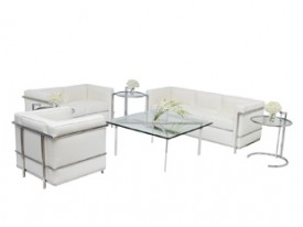 Le Corbusier Lounge Grouping - White