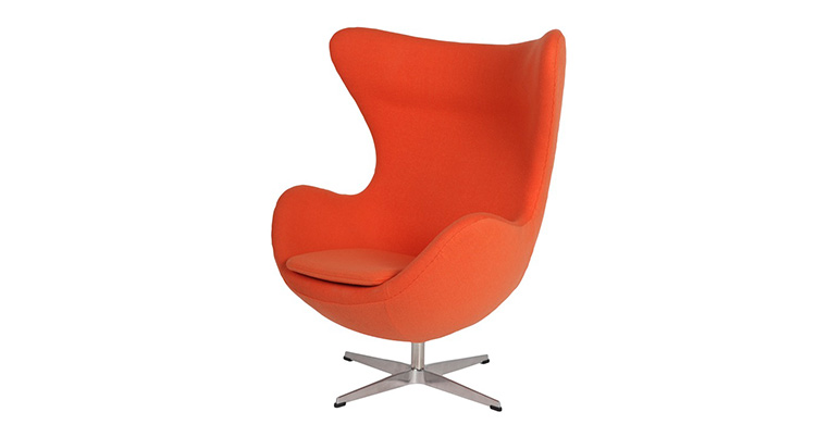 Egg Chair – Orange