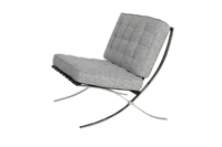 Barcelona Chair - Grey