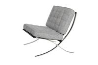 Barcelona Chair - Grey