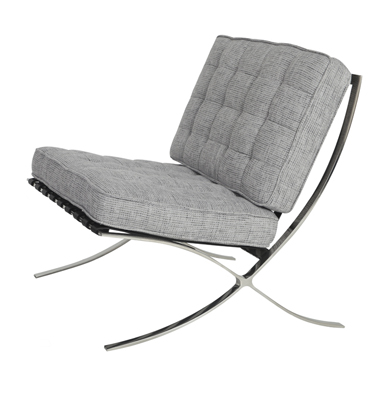Barcelona Chair – Grey
