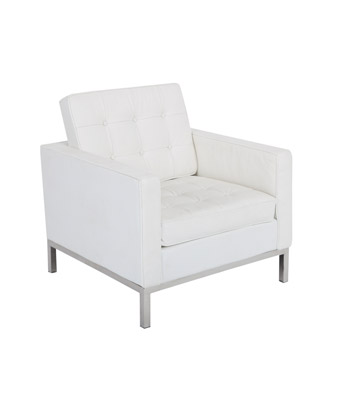 Knoll Chair – White