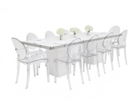 Mariner Dining Grouping - White