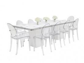 Mariner Dining Grouping - White