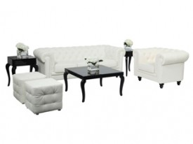 Aristocrat Lounge Grouping - White