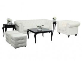 Aristocrat Lounge Grouping - White