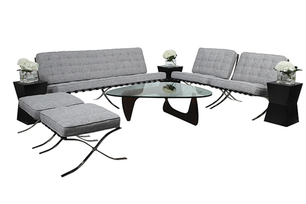 Barcelona Lounge Grouping – Grey