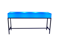 LED Counter Table - Blue