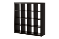 Bookshelf - Brown/Black