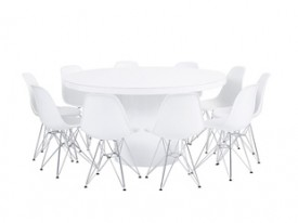 Orb Dining Grouping - White
