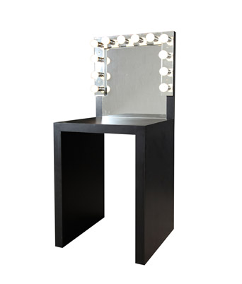 Makeup vanity miami event rentals lavish event rentals makeup vanity black aloadofball Image collections